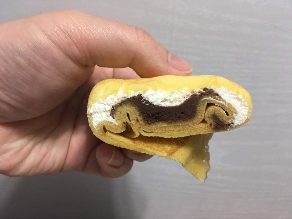 生チョコクレープ